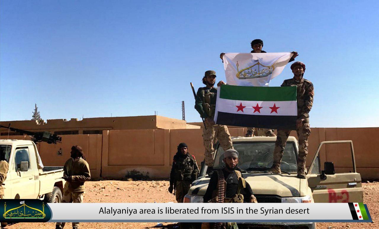 Free Syrian Army Further Advances Against ISIS In Syrian Desert