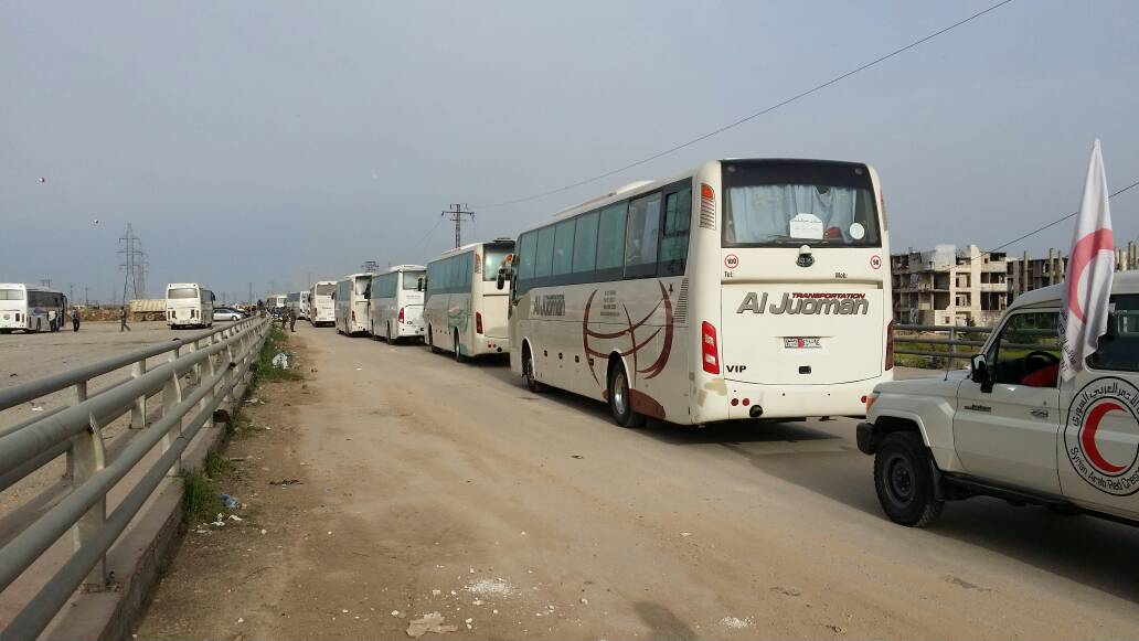 Second Phase Of Al-Fua'a-al-Zabadani Agreement (Photos, Videos)