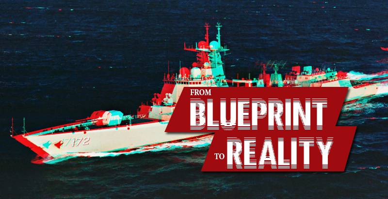 Chinas type 055 destroyer from blueprint to reality malvernweather Images
