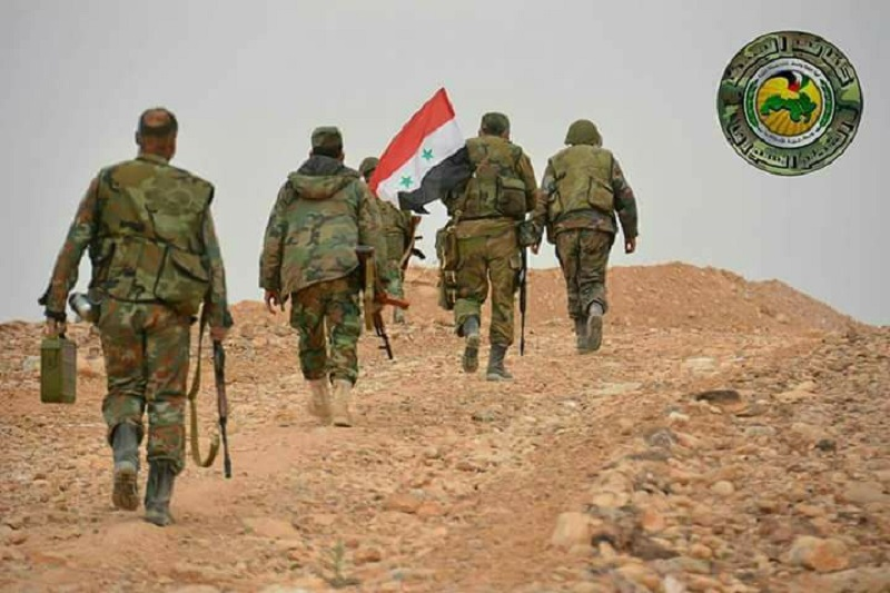 Syrian Army Fortifying Positions In Northern Hama Countryside