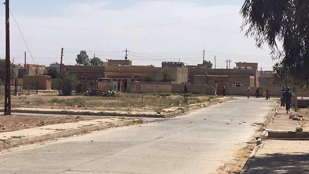 Iraq Popular Mobilization Units Liberated Hatar Town