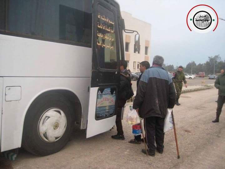 More Militants And Their Families Left al-Waer District Of Homs (Photos)