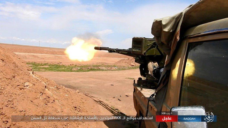 US-backed Forces Repelling ISIS Attack In Tabqa Airbase Area