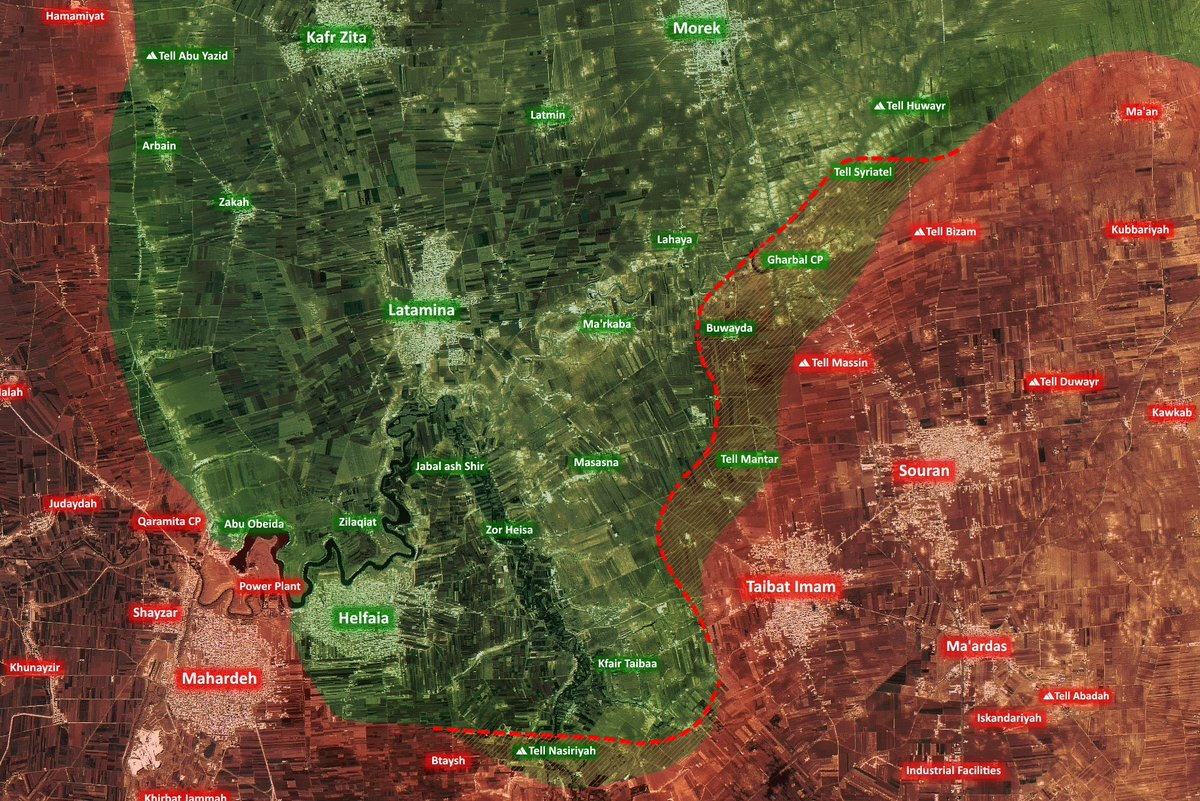 Government Forces Enter Buwaida As Militant Defenses Collapse In Northern Hama