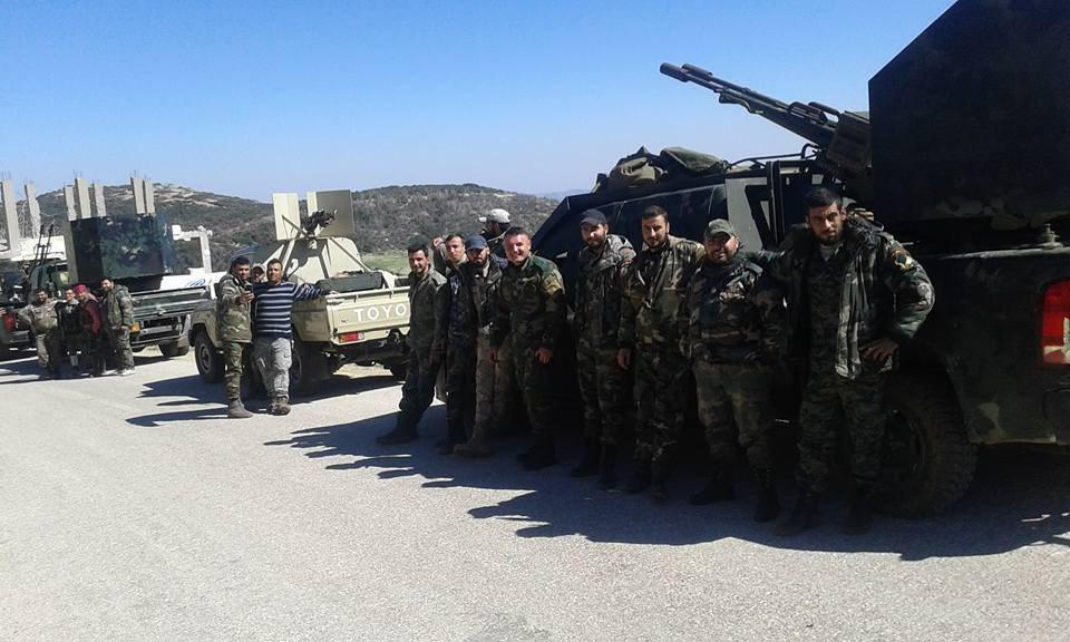 The Desert Hawks: Armed Fire Brigade In Action Across Syria