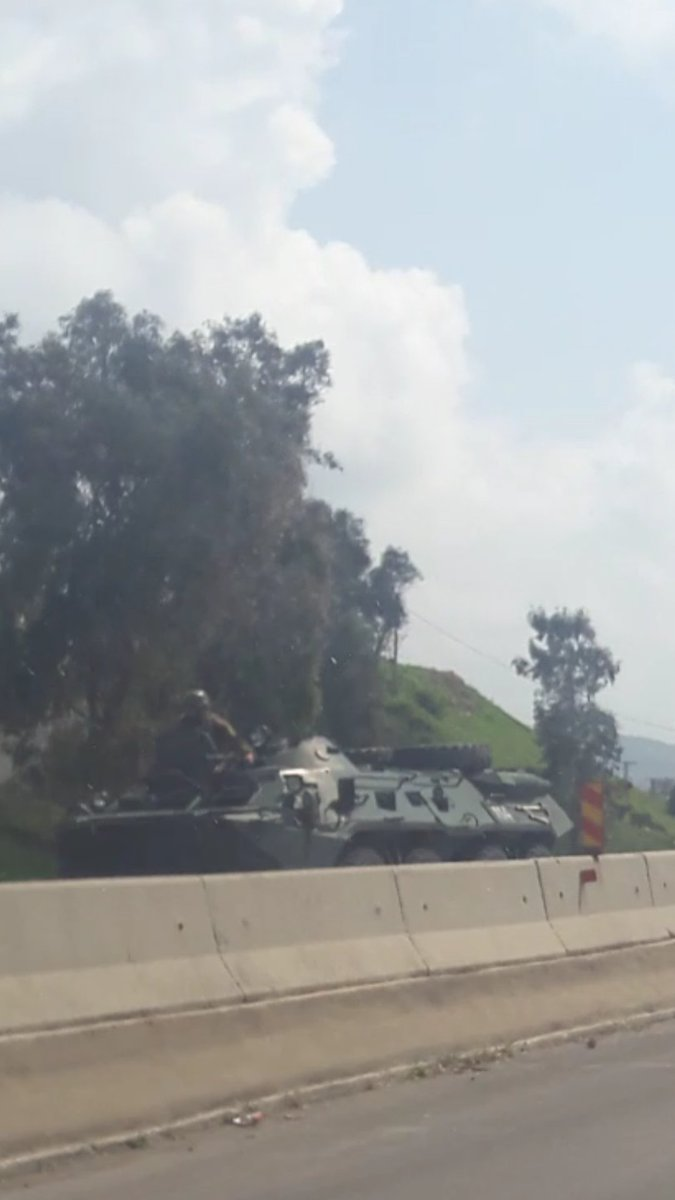 Russian Military Police En Route To Hama Province (Photos)