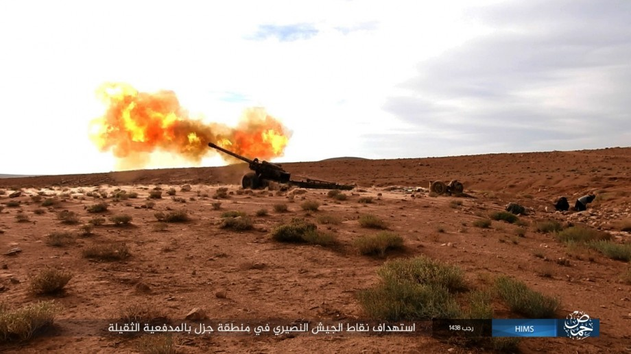 Syrian Army Attacks ISIS Terrorists North And East Of Palmyra (Photos, Videos)