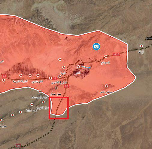Syrian Army Advances Towards Gas Fields Near Palmyra (Maps, Video)