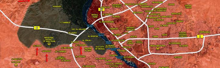 24april_Mosul city_Iraq_war_map