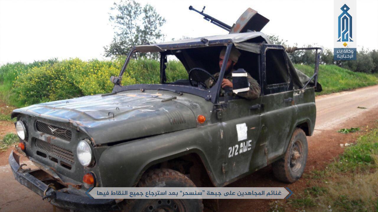 Hay'at Tahrir al-Sham Repelled Syrian Army Attack On Helfaya