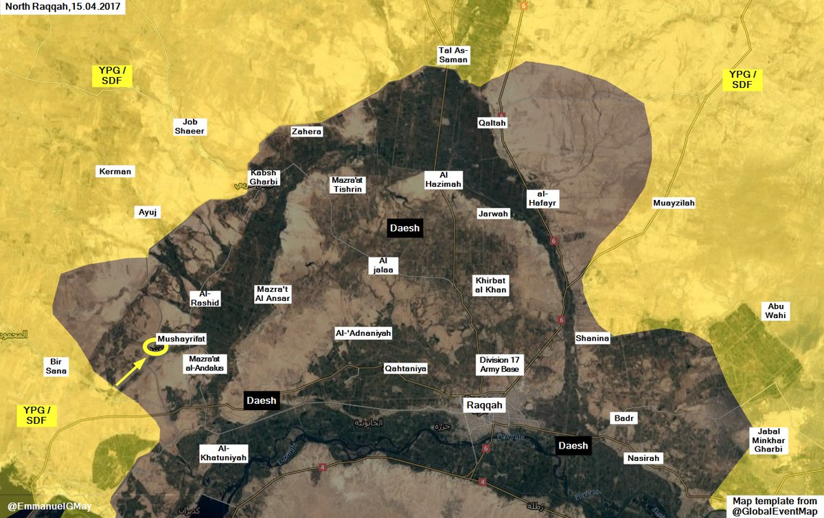 Syrian Democratic Forces Entered ISIS Stronghold Of Tabqah