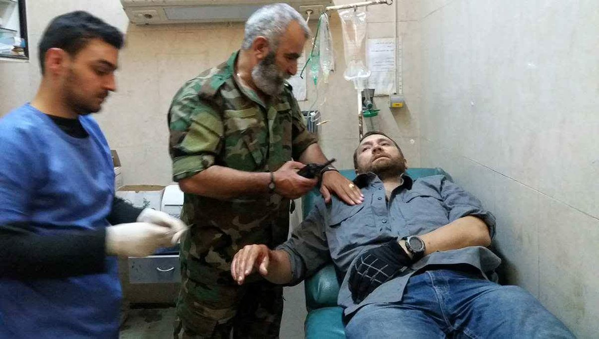 Clashes Between Government Forces And ISIS In Deir Ezzor. Two Russian Jouranlists Injured (Photos)