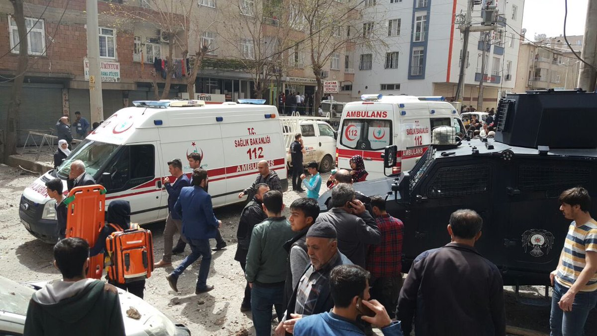 Large Explosion Near Riot Police Headquarters In Turkey's Diyarbakir (Photos, Videos)