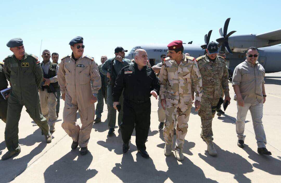 Iraqi Prime Minister Visits Iraqi Forces Advancing In Western Mosul
