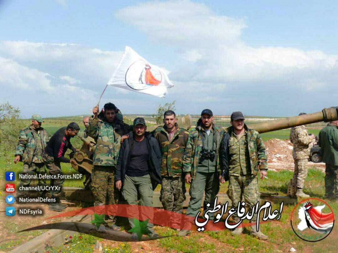 Tiger Forces And Allies Further Advancing In Northern Hama