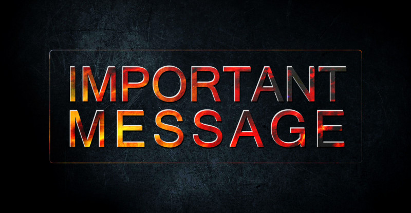 3IMPORTANT MESSAGE