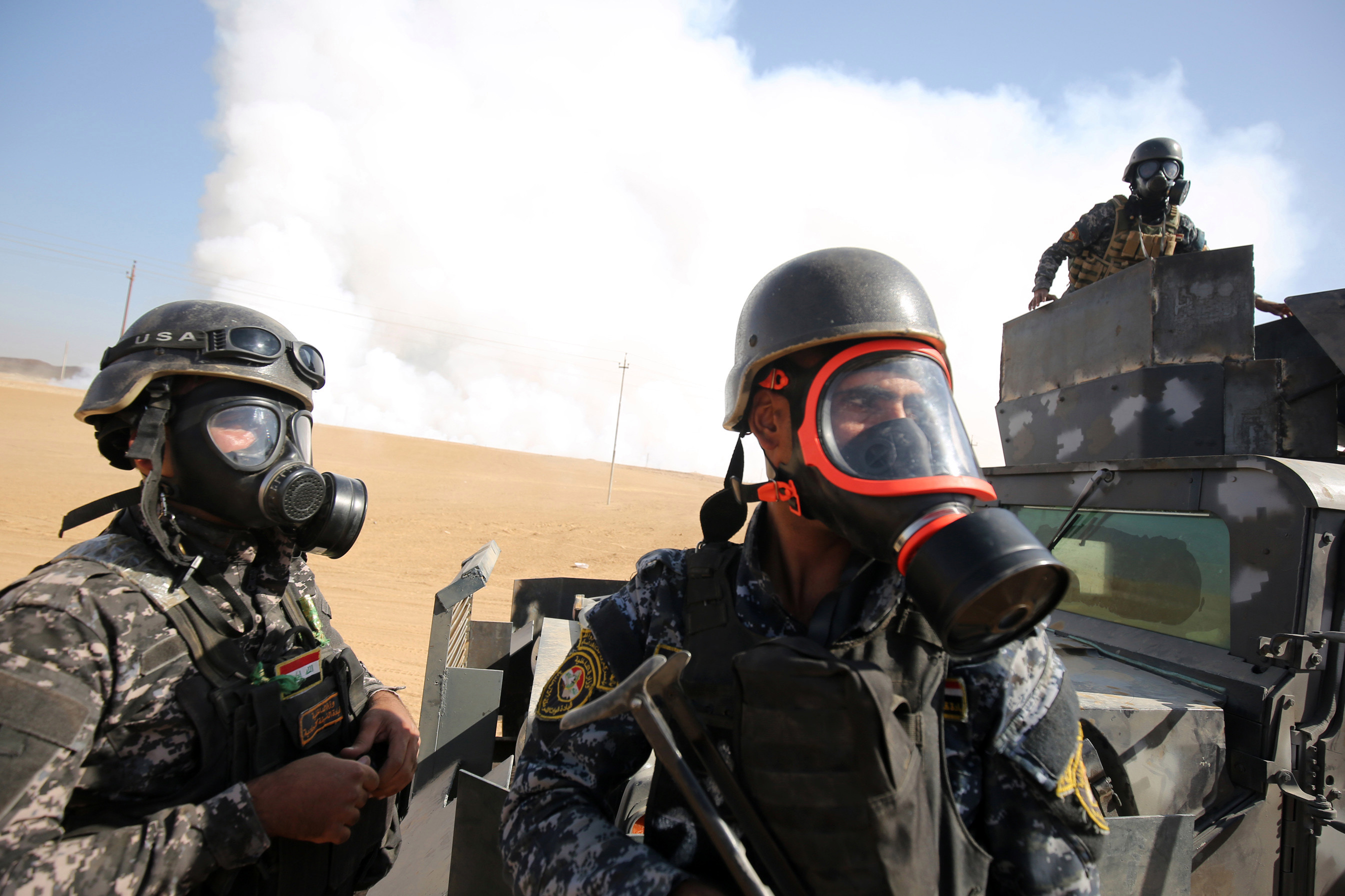 US, Australian Advisers And Iraqi Troops Came Under ISIS Chemical Attack In Mosul