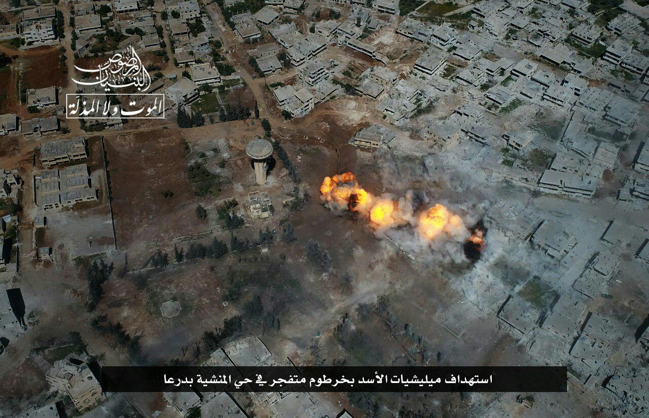 Hay'at Tahrir al-Sham Intensifies Its Operations In Daraa (Photos, Video)