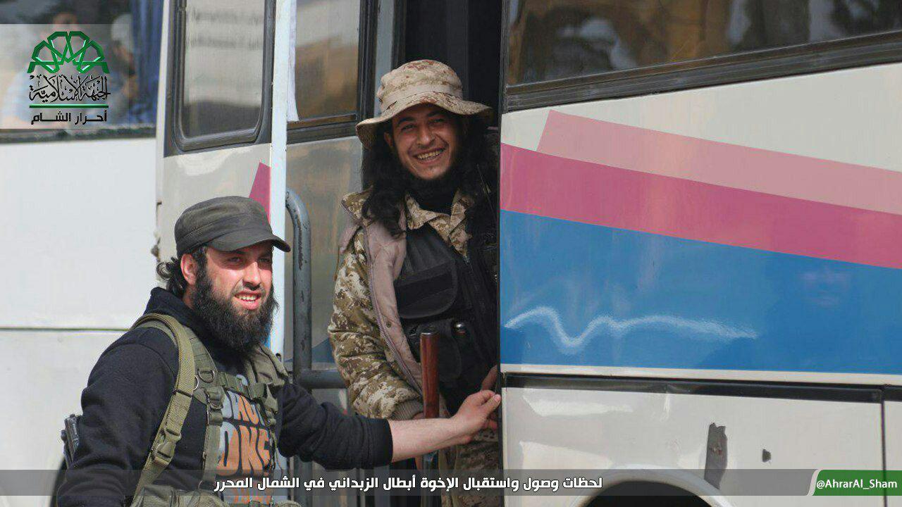 Second Phase Of Al-Fua'a-al-Zabadani Agreement (Photos, Videos)