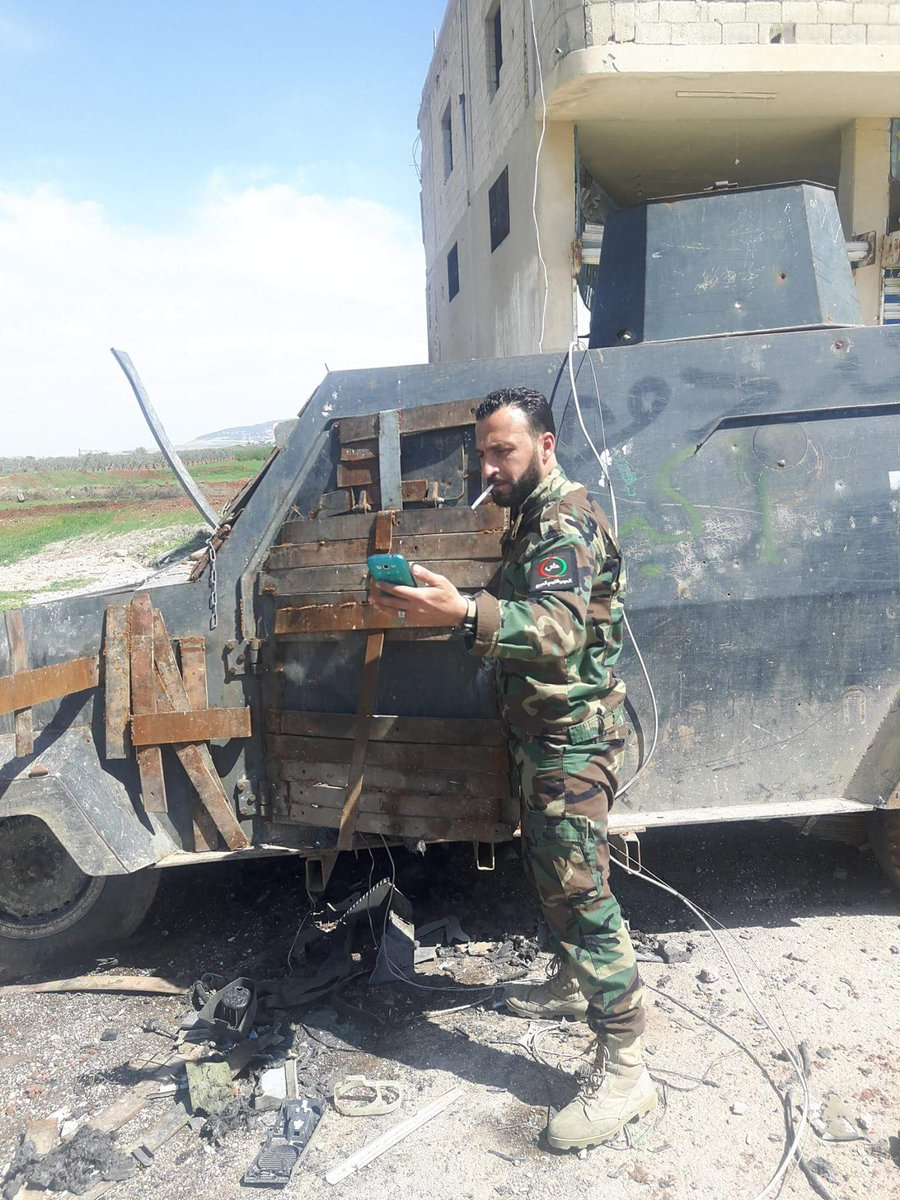 Government Forces Secure Maardes, Advance On Suran In Northern Hama (Photos)