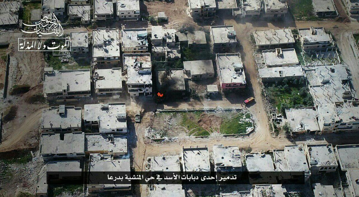 Hayat Tahrir al-Sham Attacks Syrian Army Positions In Dara'a (Photos, Video)