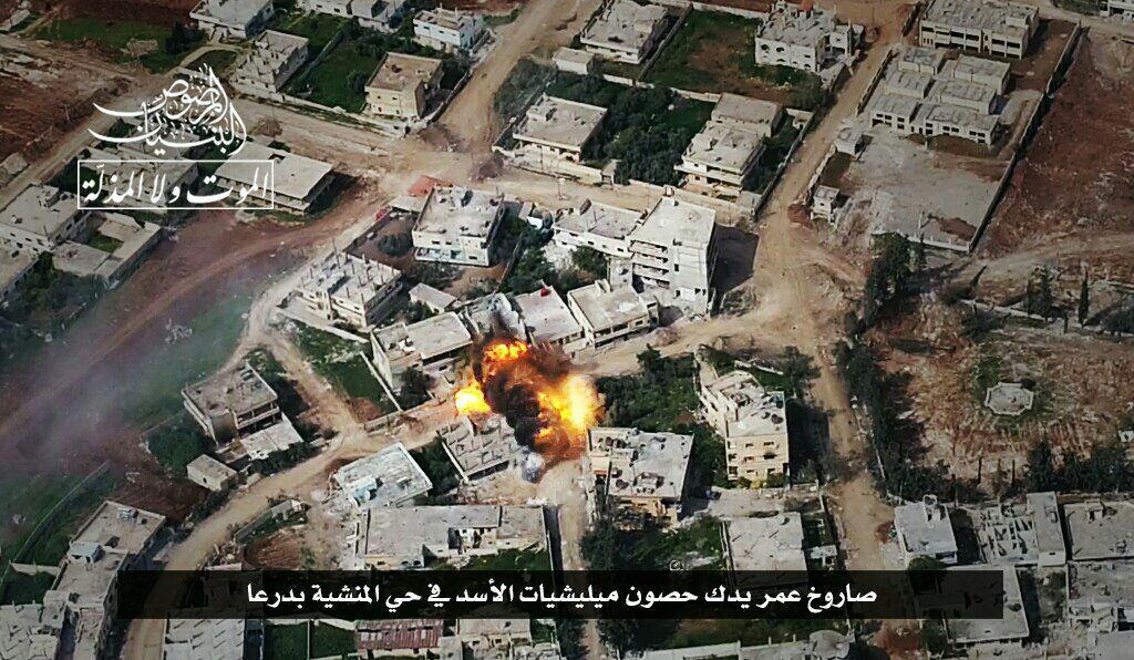 Hay'at Tahrir Al Sham Gaining Ground In Al Minshyah Neighborhood In Daraa city