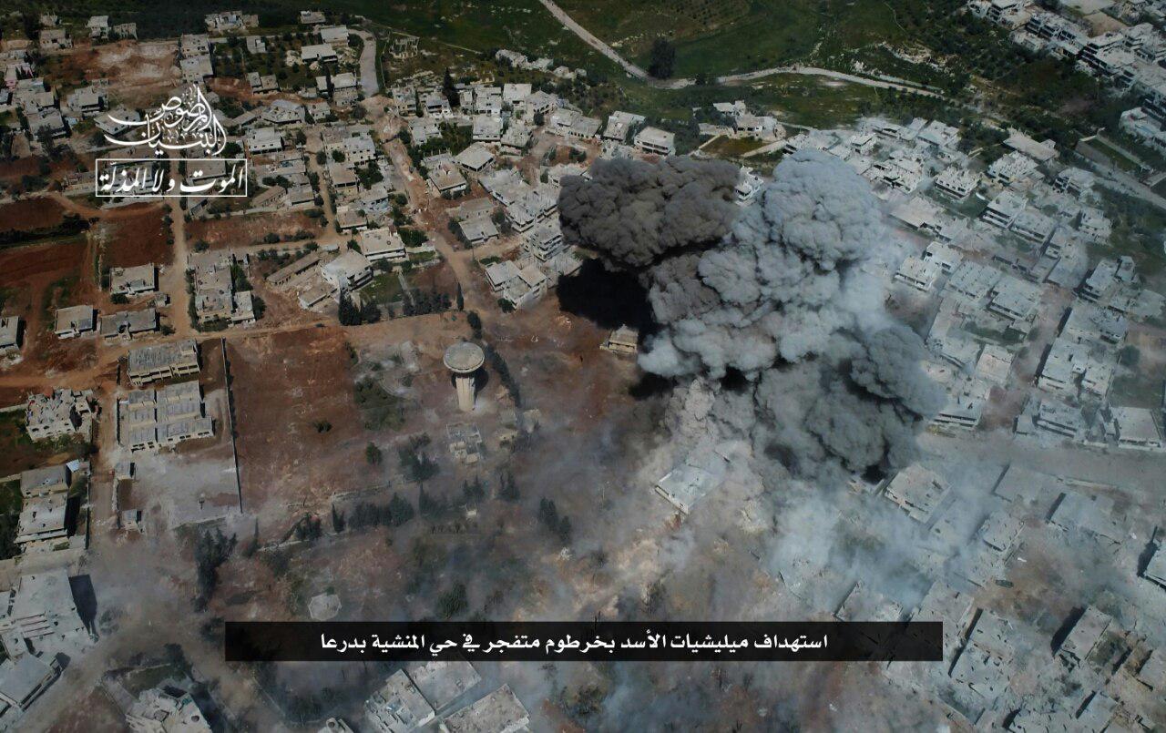 Hay'at Tahrir al-Sham Intensifies Its Operations In Daraa (Photos, Video)
