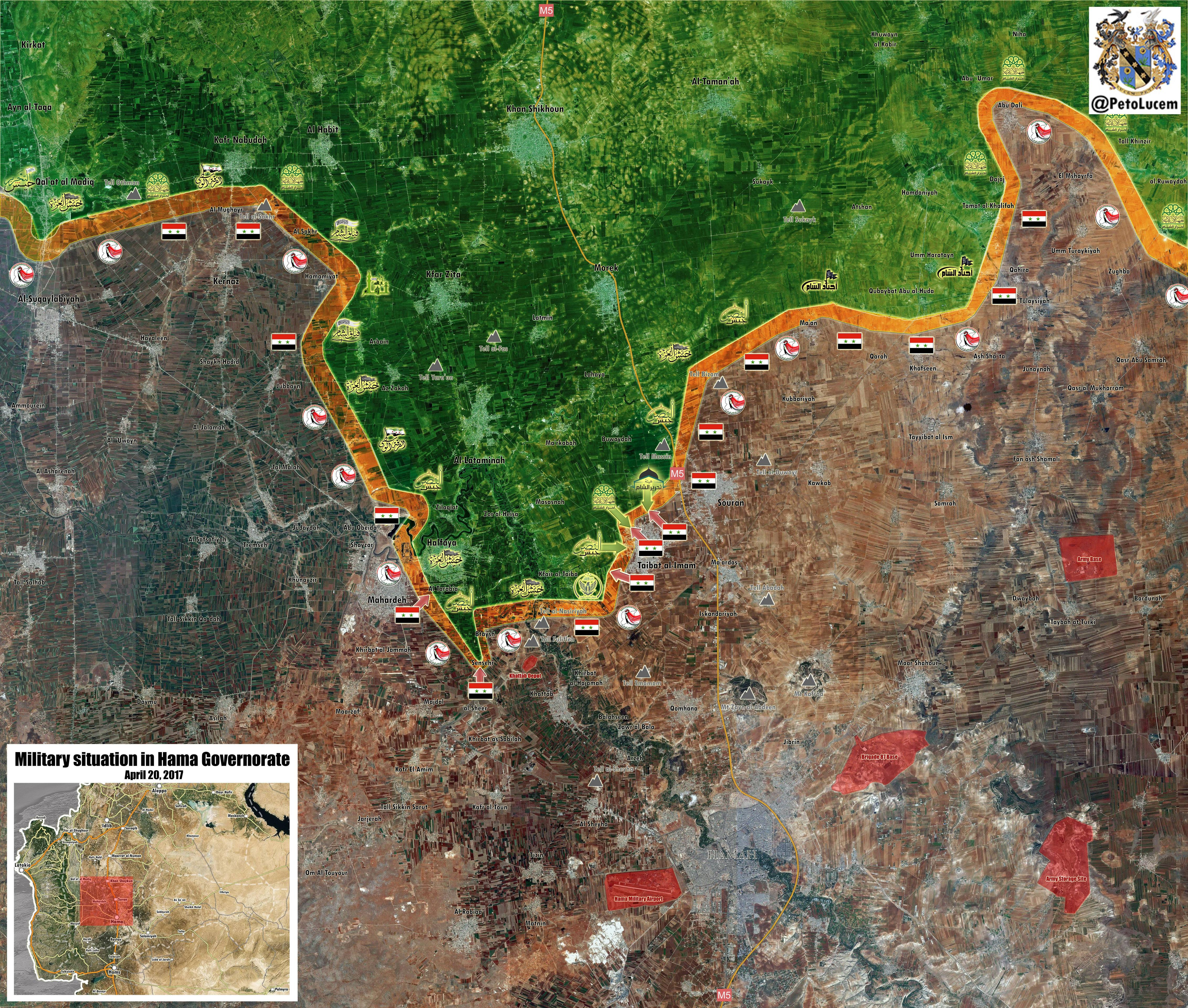 Syrian Army 5th Corps Open Headquarters In Hama Countryside, Prepare For Large-Scale Advance