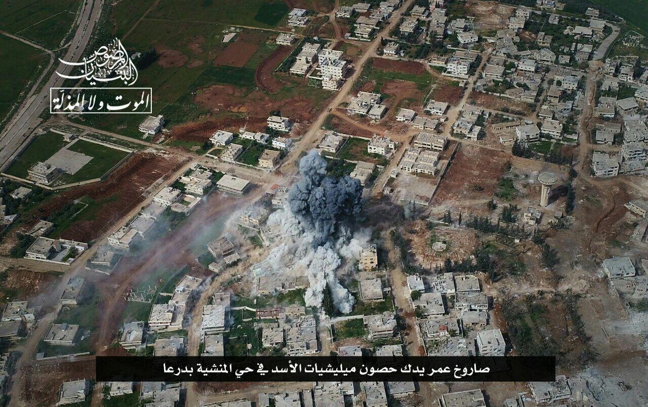 Hay'at Tahrir Al Sham Gaining Ground In Al Minshyah Neighborhood In Daraa city