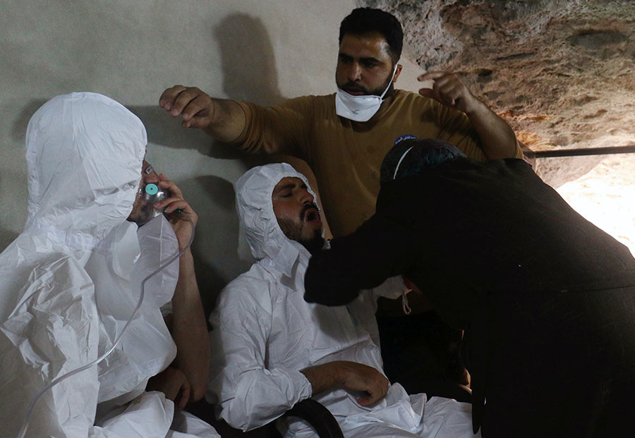'Chemical Attack In Idlib': 3 Main Versions. France Calls UN Security Council Meeting