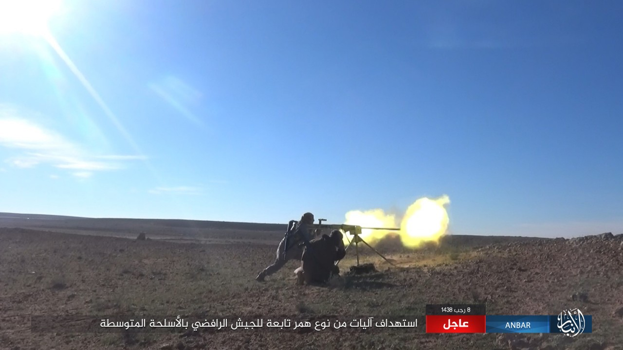 ISIS Downs Iraqi Helicopter In Western Mosul (Photos, Videos)