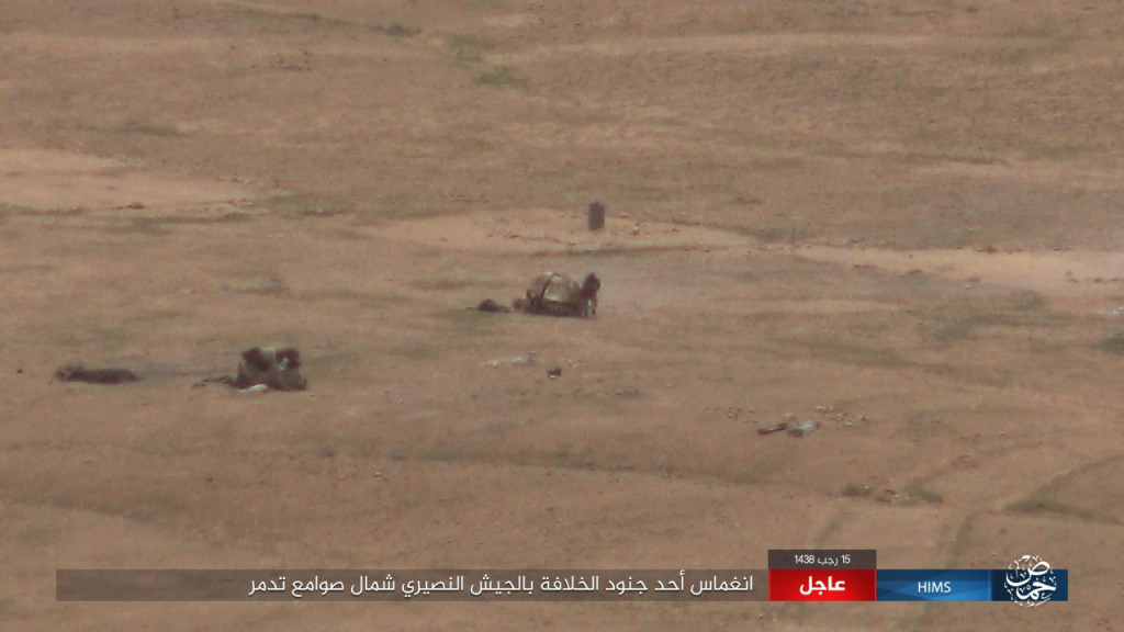 ISIS Attacks Syrian Army Near Palmyra