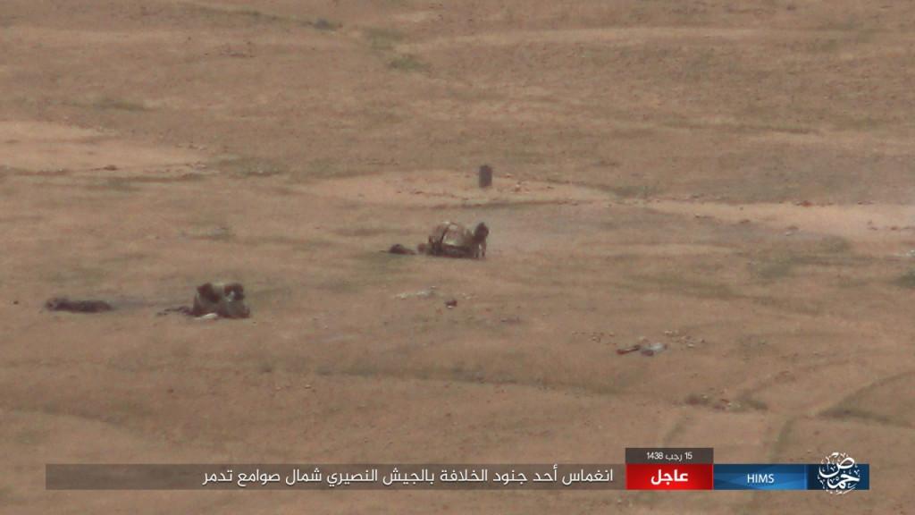 ISIS Attacks Syrian Army Near Palmyra