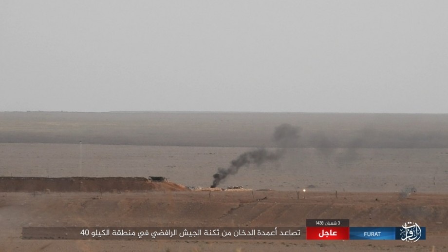 Iraqi People Mobilization Units Crushes ISIS Militants In Vicinity Of Hatar (Video, Photos)