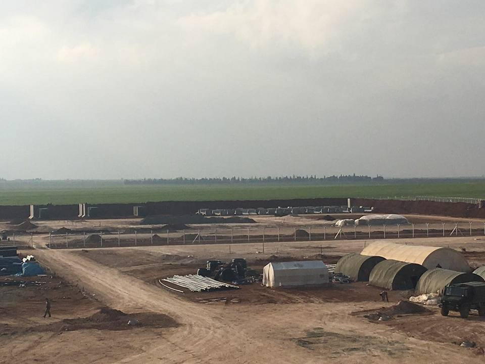 Turkey Building Two Military Bases In Northern Syria (Photos)