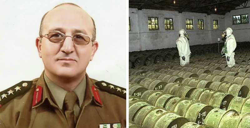 Fugitive Syrian General Says Assad's Government Retained 700 Tons of Chemical Weapons