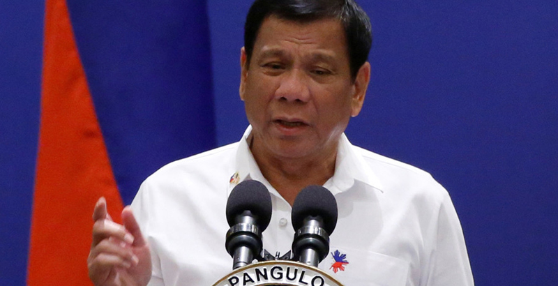 Duterte Orders to Occupy All Philippine-Claimed Islands in South China Sea