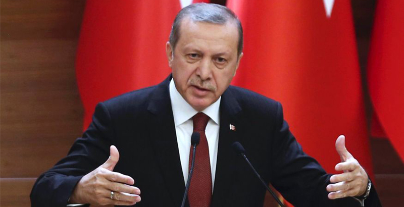 Erdogan Vows To Crush US-backed Forces In Syria's Afrin And Manbij