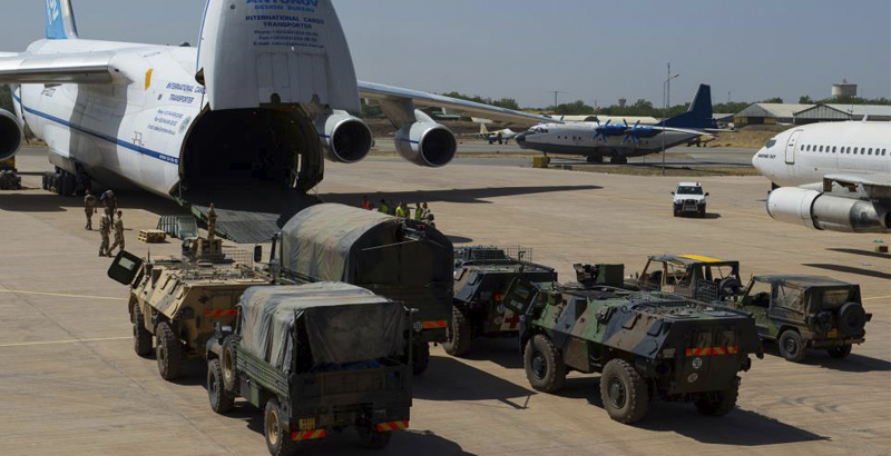 France Notes Its Armed Forces' Critical Dependence on An-124 Ruslan Airlift Aircraft