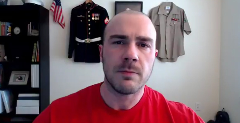 Marine Veteran Warns Trump: 'You're Being Duped' on Syria