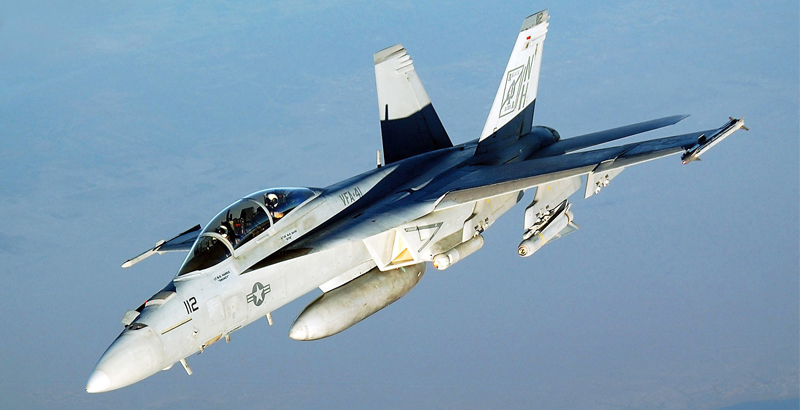 Boeing Pitches 'Super' Super Hornets to Replace F-35