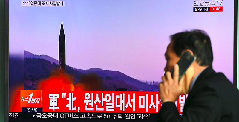 South Korean Army on Full Combat Alert due to Latest North Korea's Missile Test