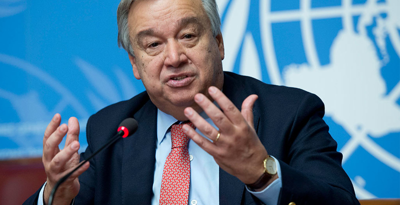 UN Secretary General Concerned about Israel's Approval of New Settlement in West Bank