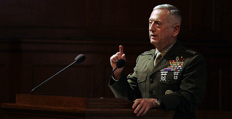 US Defense Secretary to Brief Trump on Options for Military Action in Syria