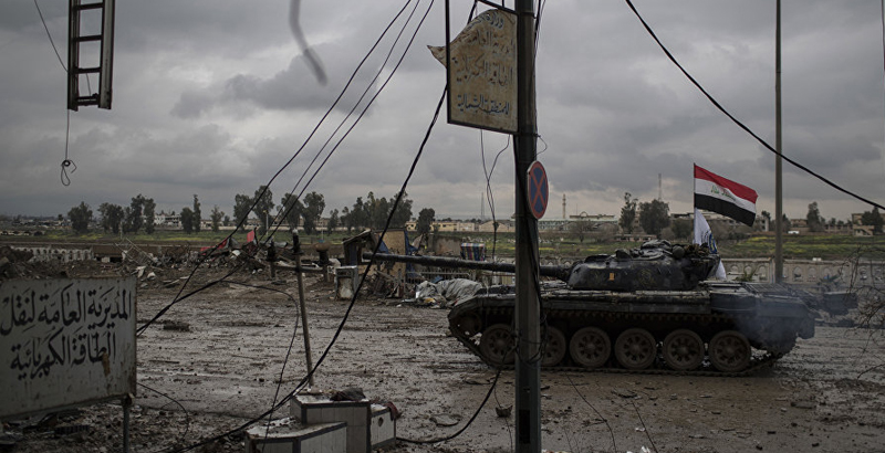 ISIS Controls Less than 30% of Western Mosul's Territory