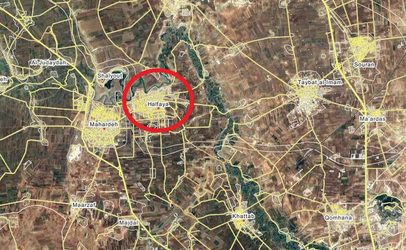 Government Troops Attacking Militant-held Town Of Halfaya In Northern Hama