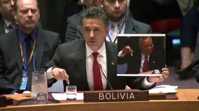 Bolivia Trolls United States At UN Security Council Meeting On Trump's Syria Strike