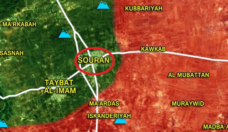 Syrian Army Recaptures Strategic Town Of Souran In Northern Hama (Photos, Map)
