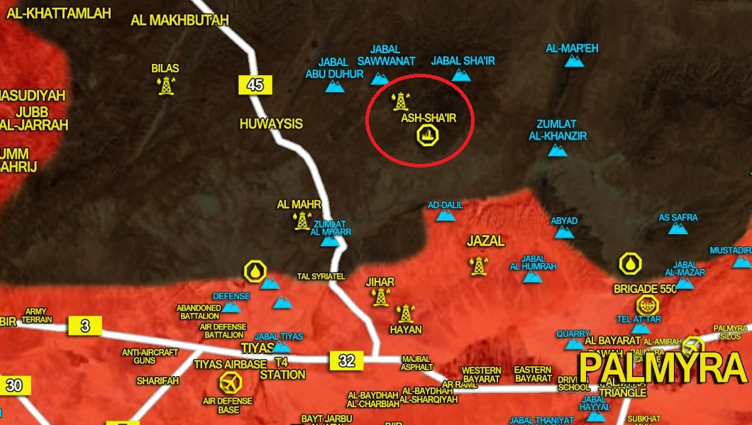 Government Troops Recapture Ash-Shair Gas Field From ISIS In Homs Province (Video)