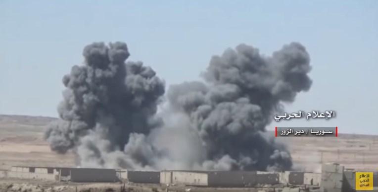 Syrian Republican Guard Advances South Of Deir Ezzor (Video)